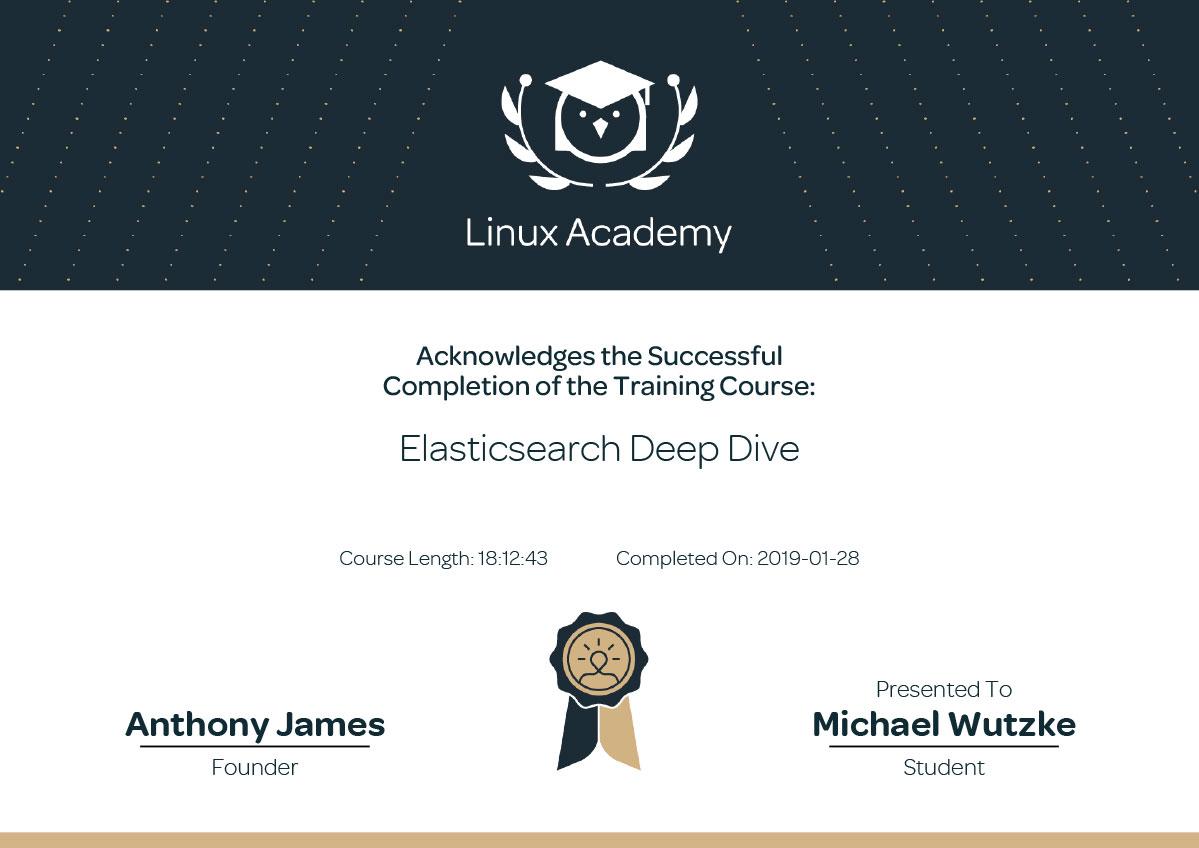 Elasticsearch expert in Frankfurt - Deep Dive - Training - Certificate