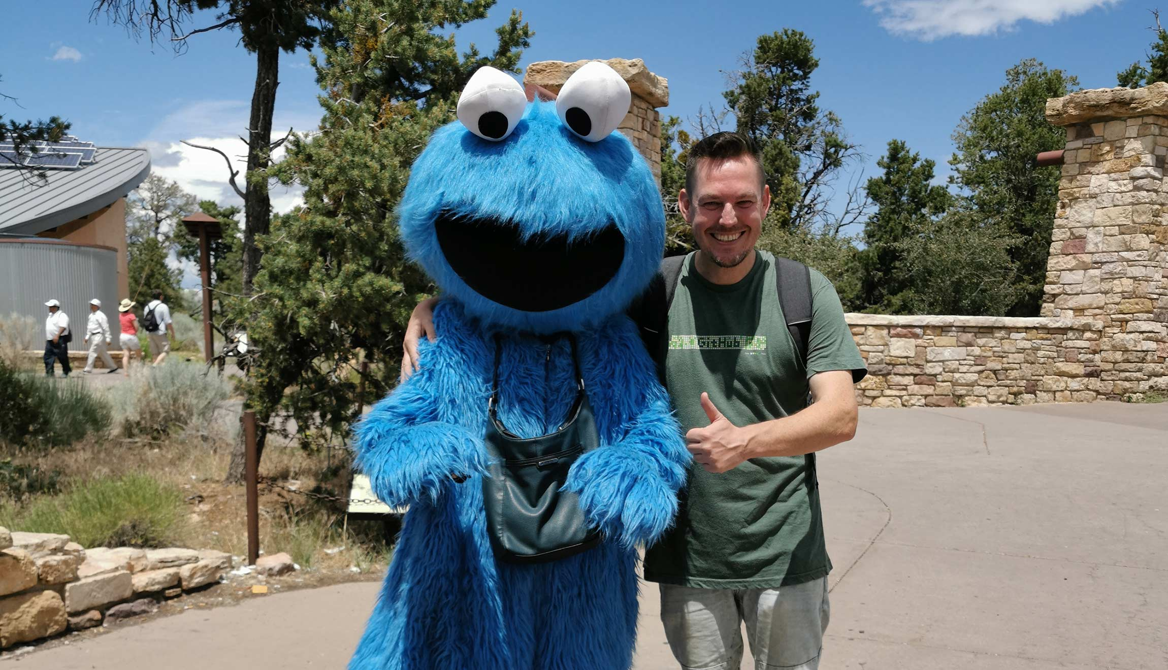 Michael Wutzke and the Cookie Monster