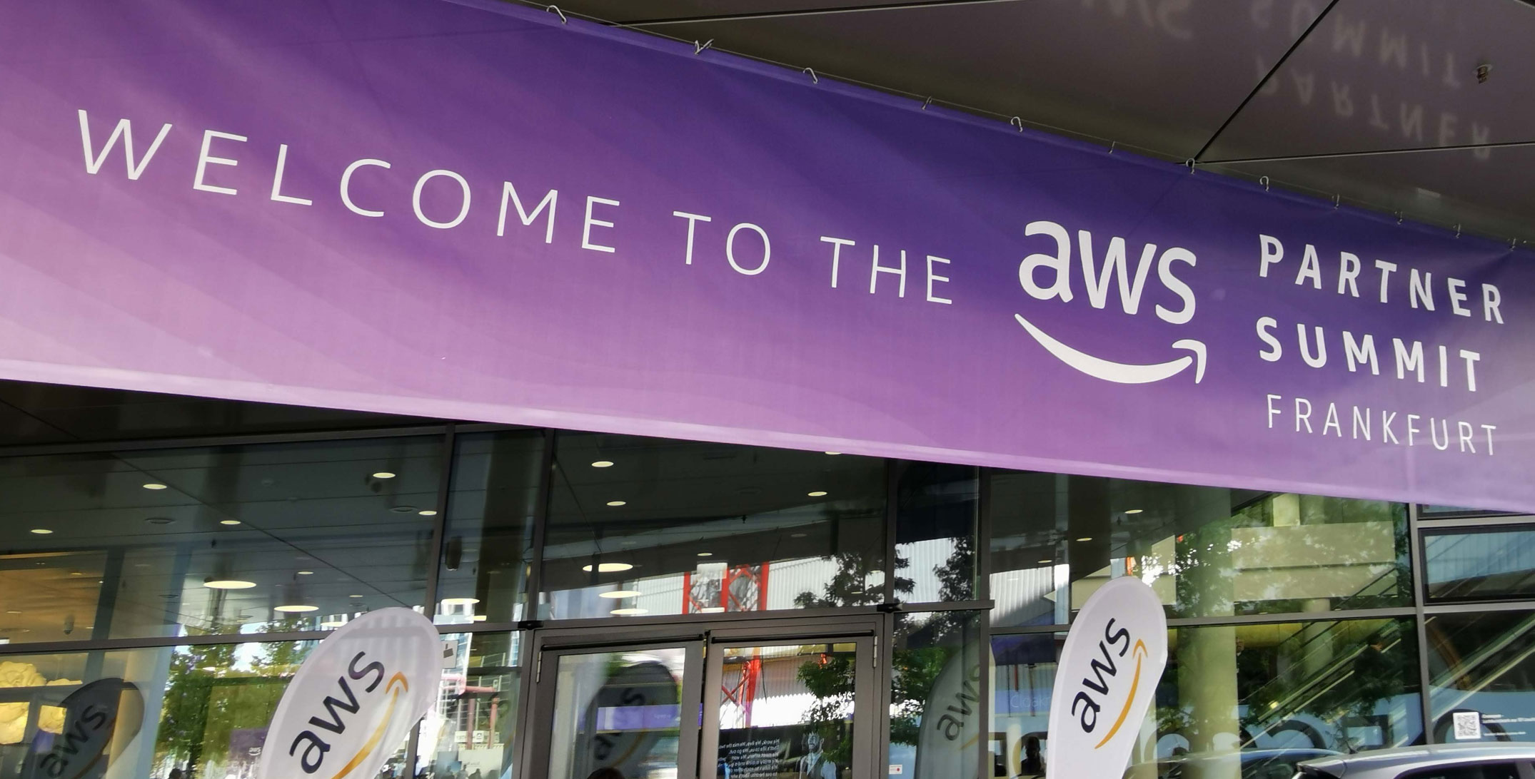 AWS Partner Summit in Frankfurt - AWS Summit Frankfut 2019 - Amazon Web Services Conference - AWS Logo