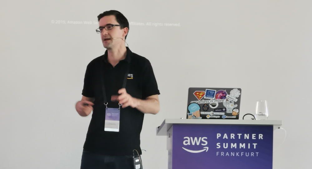 AWS Summit Frankfurt Germany - Speaker at the AWS Congress - Amazon Web Services Specialist