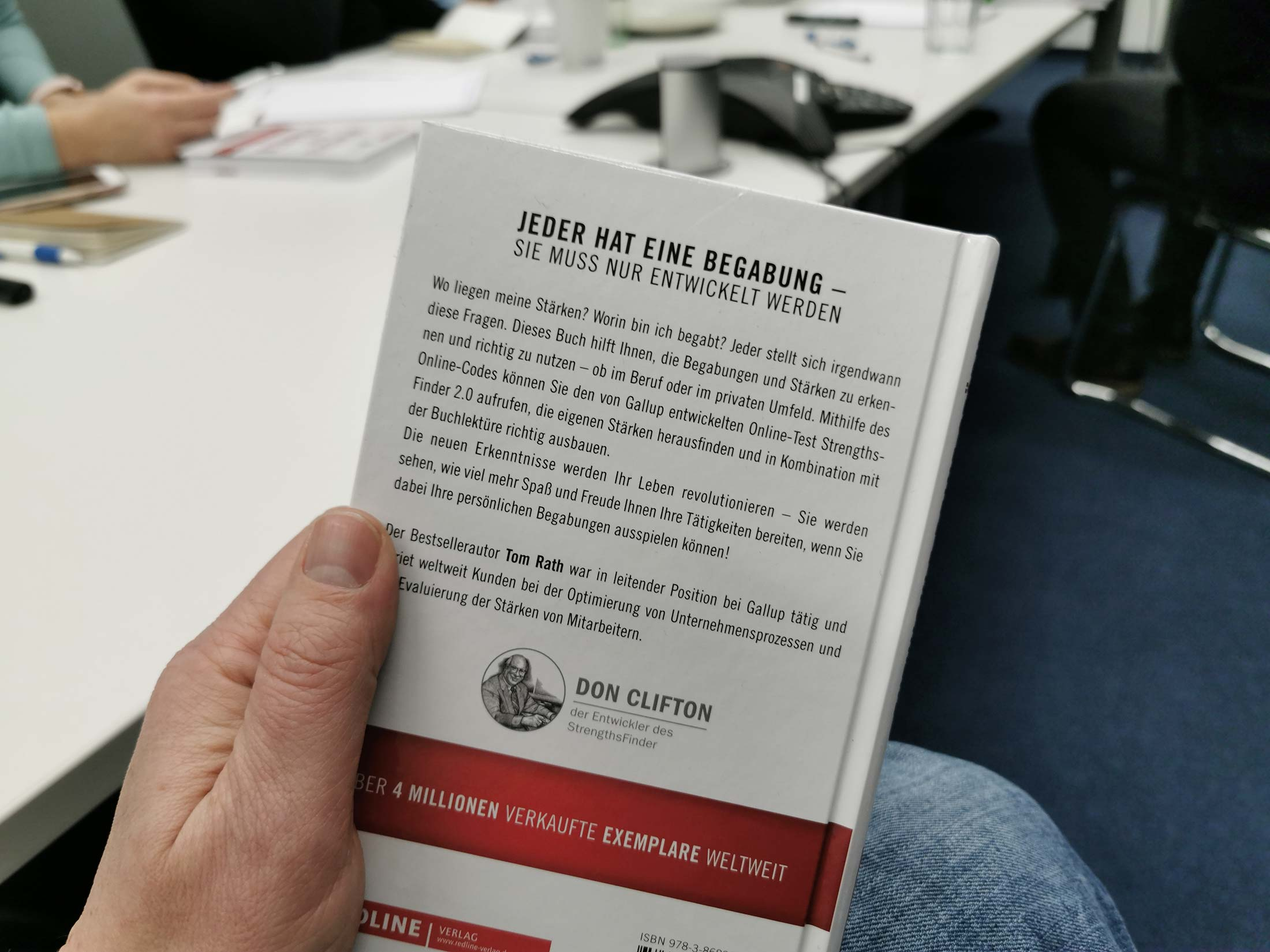 Book - Develop your Strenghts - in German