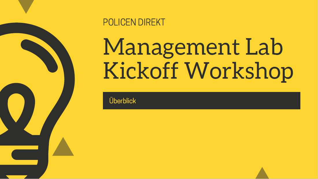 Policen Direkt Management Lab